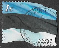 Estonia 2013 Flag €1 Good/fine Used [38/31492/ND] - Estonia