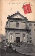 CPA BASTIA - Eglise SAINT CHARLES - France