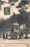 CPA AJACCIO ( Corse ) Statue Du Général Abatucci - Ajaccio
