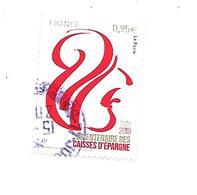 Bicentenaire Des Caisses D'Epargne 5207 Oblitéré 2018 - France