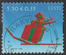 Estonia 2008 Christmas 5k.50 Good/fine Used [22/19689/ND] - Estonia