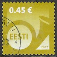 Estonia 2012 Definitive 45c Good/fine Used [38/31494/ND] - Estonia