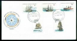 AAT 1980 Ships I, Broken Hill NSW FDC Lot79712 - Australian Antarctic Territory (AAT)