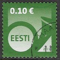Estonia 2011 Definitive 10c Good/fine Used [38/31497/ND] - Estonia