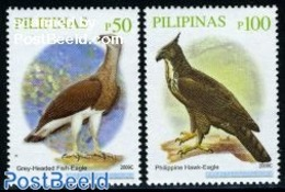 Philippines 2009 Birds 2v (2009C), (Mint NH), Nature - Birds - Birds Of Prey - Philippines