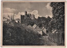 Bornhagen Rimbach - S/w Burg Hanstein 2 - Germany