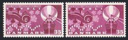 Denmark 404 Two Colors,MNH.Michel 407x-y. Carstensen.Tivoli Amusement Park,1962. - Denmark