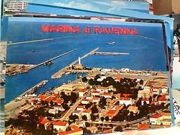 2 CARD  MARINA DI RAVENNA PORTO CANALE  DA AEREO E CON BARCHE  VB1967/72 GW4726 - Ravenna