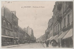 CPA 90 BELFORT Faubourg De France - Belfort - Ville