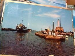MARINA DI  RAVENNA FARO E CANALE CON NAVE SHIP  CARGO DILOREN ? VB1964 GW4730 - Ravenna