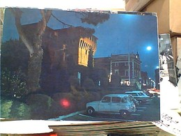 LUGO CASTELLO ESTENSE DI NOTTE AUTO CAR RENAULT R 4  VB1977 GW4734 - Ravenna