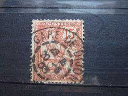 """VEND BEAU TIMBRE DE FRANCE N° 125 , CACHET """" GARE DE DIJON """" !!! - 1900-02 Mouchon"""
