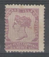 PRINCE EDOUARD:  N°9 *       - Cote 90€ - - Prince Edouard (Ile)