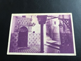 L'ALGERIE Centenaire 1930 - TLEMCEN Sidi Bou Medine. Cour Et Puits Du Mausolée - Tlemcen