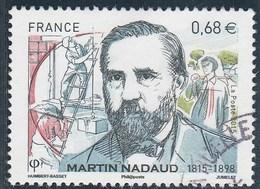 FRANCE 2015 MARTIN NADAUD OBLITERE - France