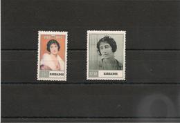 BARBADE : Anniversaire De S.M. Reine Mère Elisabeth Année 1990  N°Y/T:780/81** - Barbados (1966-...)
