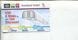 (567) MRT & LRT Ticket - Singapore - Chemin De Fer