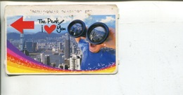 (567) Hong Kong Peak Tramway Ticket - - Chemin De Fer