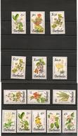 BARBADES :Fleurs/Flowers Année 1990  N°Y/T: 782/792**-797/799** Côte : 37,50 € - Barbades (1966-...)