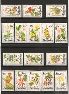 BARBADES : Fleurs/Flowers  Année 1989  N°Y/T: 752/761** Côte : 43,50 € - Barbados (1966-...)