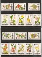 BARBADES : Fleurs/Flowers  Année 1989  N°Y/T: 752/761** Côte : 43,50 € - Barbades (1966-...)