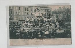 Chalon Sur Saône Fêtes De Carnaval 1927 Chalon En Fleurs - Chalon Sur Saone