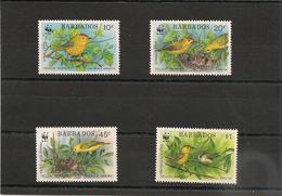 BARBADES : Faune:  Oiseaux/Birds  Année 1991  N°Y/T: 804/807** Côte : 14,50 € - Barbades (1966-...)