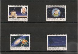 BARBADES : Espace :   Année 1988  N°Y/T: 736/739** - Barbados (1966-...)