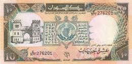 BILLET SOUDAN BANK OF SUDAN TEN SUDANESE POUNDS - Soudan