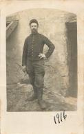 CARTE PHOTO ISER  1916  GRANDE GUERRE 14/18 - Guerre 1914-18
