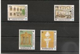 BARBADES : Restauration De La Synagogue Année 1987  N°Y/T:710/713** - Barbades (1966-...)