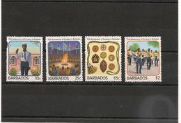 BARBADES : Scoutisme Année 1987  N°Y/T: 690/693** - Barbades (1966-...)