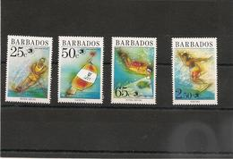BARBADES : Sport Année 1989  N°Y/T: 768/771** Côte : 15,50 € - Barbados (1966-...)