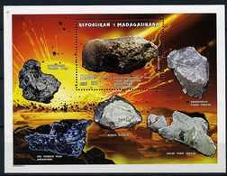 Madagascar ** Bloc N° 105 - Minéraux - Madagascar (1960-...)