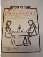 Affiche Poster - Toneel Arca - Het Souper - Anton Cogen & Greta Van Langendonck - Schrijver Rudy Geldhof - Affiches