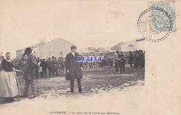 CPA De LA RONDE  (17) -  Un COIN De La FOIRE Aux BESTIAUX - CARTE PRECURSEUR - édit GENAUZAU MARTINEAU - 1906 P - Other Municipalities