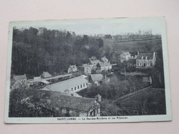 Saint-James - Le Bas-des-Rivières Et Les Filatures ( Henri-Vigla ) Anno 1945 ( Voir Photo ) - Saint Hilaire Du Harcouet