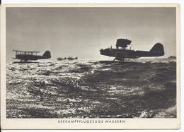 """Dt.- Reich (002596) Propagandakarte Flugzeuge """"Seekampfflugzeuge Wassern"""" Herausgeber Die Wehrmacht, Ungebraucht - Germany"""