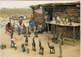 Swazi Art: The Markets Of Mbabane, Manzini Of Swaziland - Wood And Stone-carvings - Swaziland - (South Africa) - Zuid-Afrika