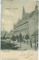 Leeuwarden 1903; Turfmarkt Met Kanselarij - Gelopen. (Dijkstra's Boekh. - Leeuwarden) - Leeuwarden