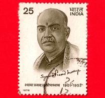 INDIA - Usato - 1978 - Shyama Prasad Mookerjee 1901-1953 - 25 - India