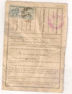 1933 TIMBRE FISCAL SUR PERMIS DE CHASSE DEPARTEMENTAL DES BOUCHES DU RHONE  B300 - Fiscaux