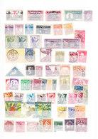 TIMBRE. ...............PETIT LOT ALLEMAGNE MEMEL COLONIE BADEN  ITALIE BELGIQUE NEDERLAND ANGLETERRE - Stamps