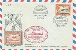 ESPAÑA, CARTA ANIVERSARIO VUELO PLUS ULTRA - 1931-Hoy: 2ª República - ... Juan Carlos I