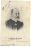 33-BORDEAUX-Concours International De Musique 1904 - Mr Camille SAINT-SAËNS, Président Effectif Du Jury...1904 - Bordeaux