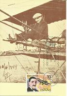 ESPAÑA, TARJETA POSTAL CON SELLO EDIFIL 2596 - 1931-Hoy: 2ª República - ... Juan Carlos I