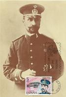 ESPAÑA, TARJETA POSTAL CON SELLO EDIFIL 2595 - 1931-Hoy: 2ª República - ... Juan Carlos I