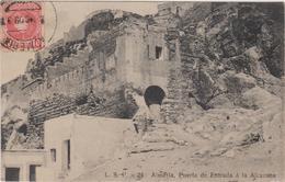 Espagne Almeria  Puerta De Entrada A La Alcazaba - Almería