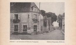 1957 - Iconographie - Fréteval (Loir-et-Cher) - L'hôtel Des Voyageurs - FRANCO DE PORT - Ohne Zuordnung
