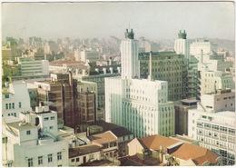 Johannesburg - Her Majesty's Building And Hillbrow Skyline - (South Africa) - Zuid-Afrika
